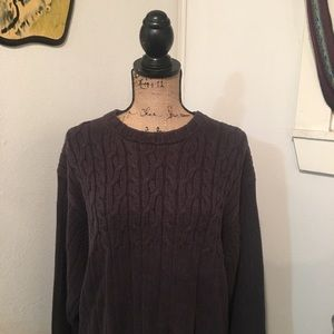 Vintage Geoffrey Beene cable knit sweater